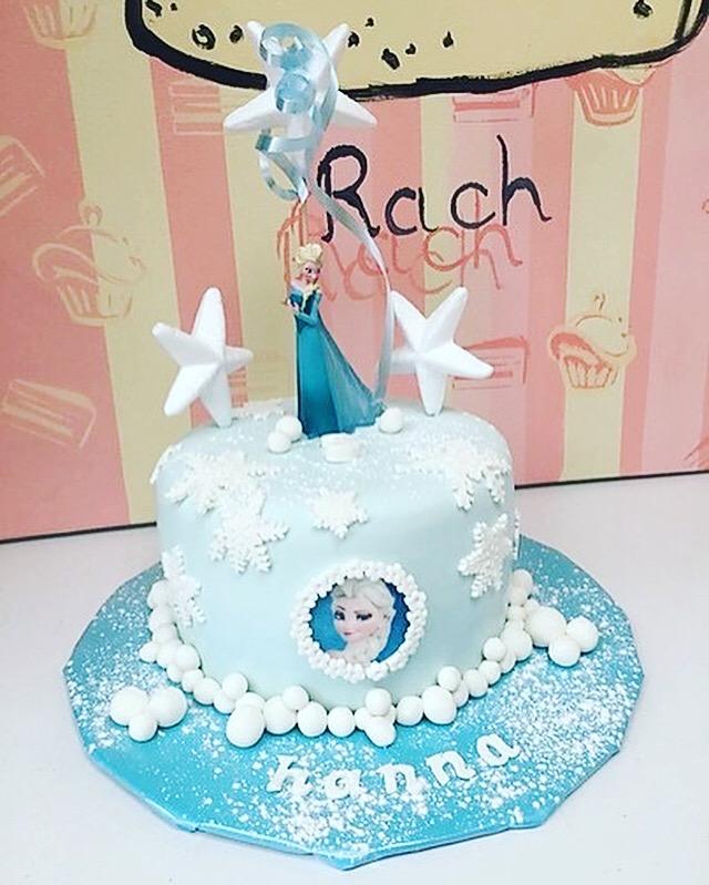 Gâteau reine des neiges lille