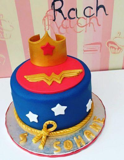 Wonder Woman Cake Lille