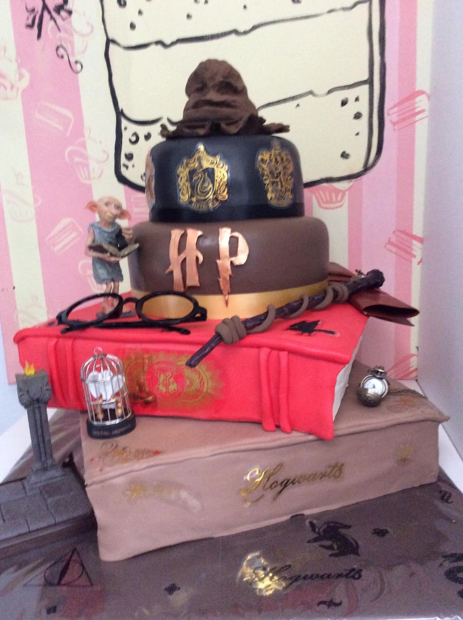 Gâteau anniversaire Harry Potter Lille