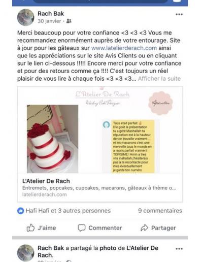 Avis L'Atelier De Rach